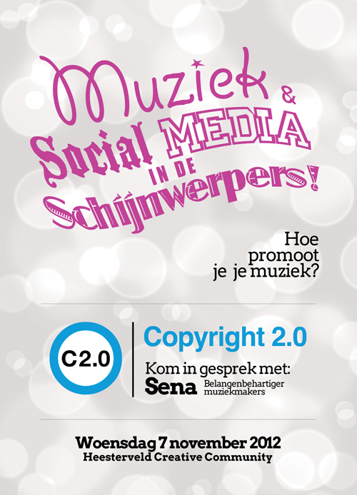 Sena-flyer van Copyright 2.0